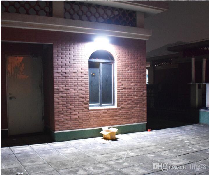 LED Solar Powered Radar sensing Light Outdoor Solar Led Flood Lights Spotlights Garden Patio Pathway Lamps Emergency Lighting