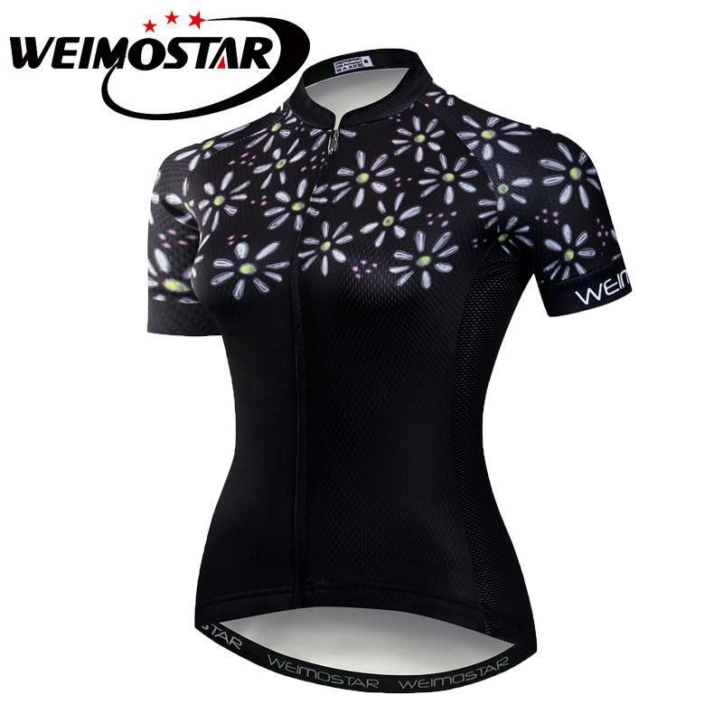 Weimostar Women Sports Cycling Jersey Bike Short Sleeve Clothing Bicycle  Shirts Girls Cycling Jersey Clothing Bicycle Wear S-3XL Cycling Jerseys  Cheap ... f7be28392