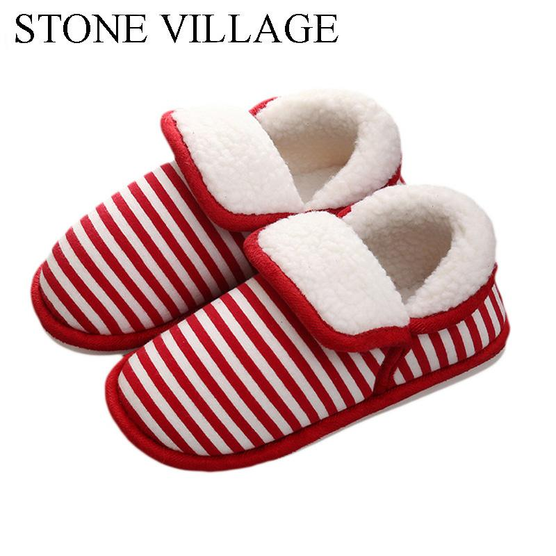 7a2167eac0 New Arrival Heart-Shaped Cotton Women Slippers Warm Plush Winter Fur  Slippers Soft Indoor Shoes Flat With Home Slippers