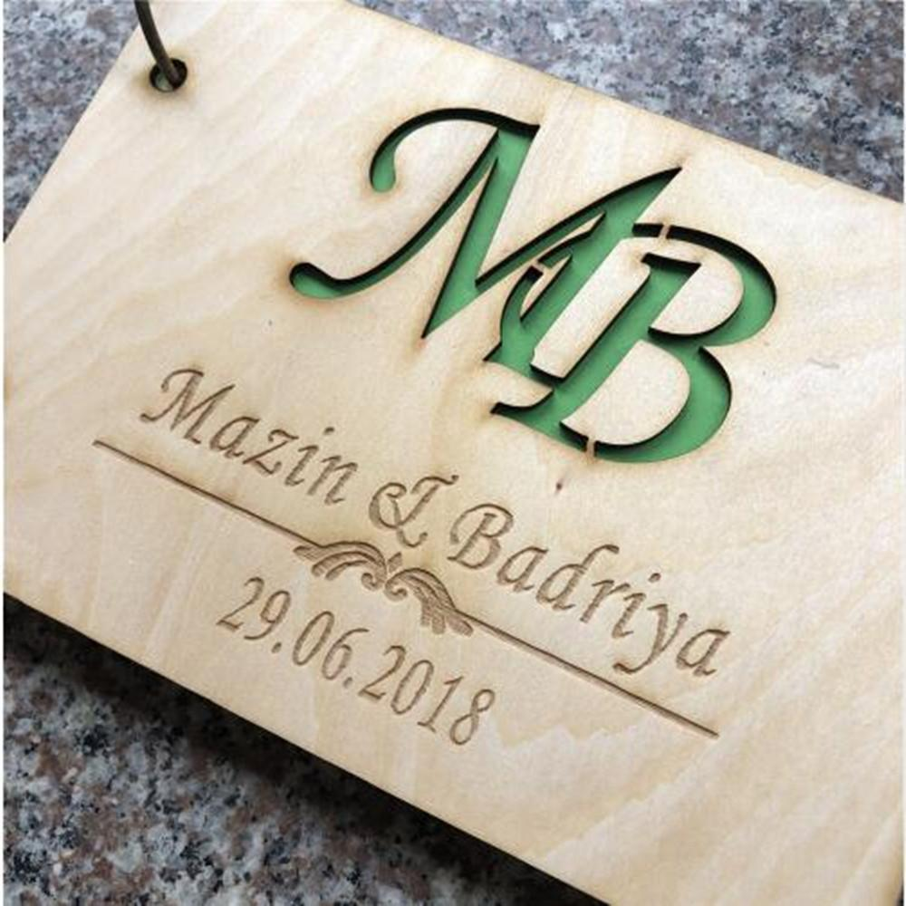 2019 Wood Wedding Guest Book Wedding Guest Book Anniversary GiftWedding Photo Album Wooden Guestbook GiftSignature Book Supplies From Haoxinwedding ... & 2019 Wood Wedding Guest Book Wedding Guest Book Anniversary Gift ...