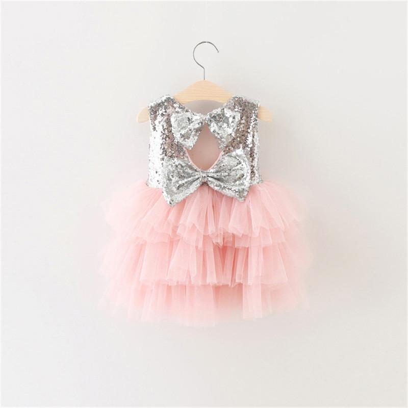 c82fcbde7ce94 First Birthday Baby Dresses for 1 2 Years Infant Toddler Newborn Clothes  Dresses for Girls Party Baptism Tutu Fluffy Clothing Y18102007