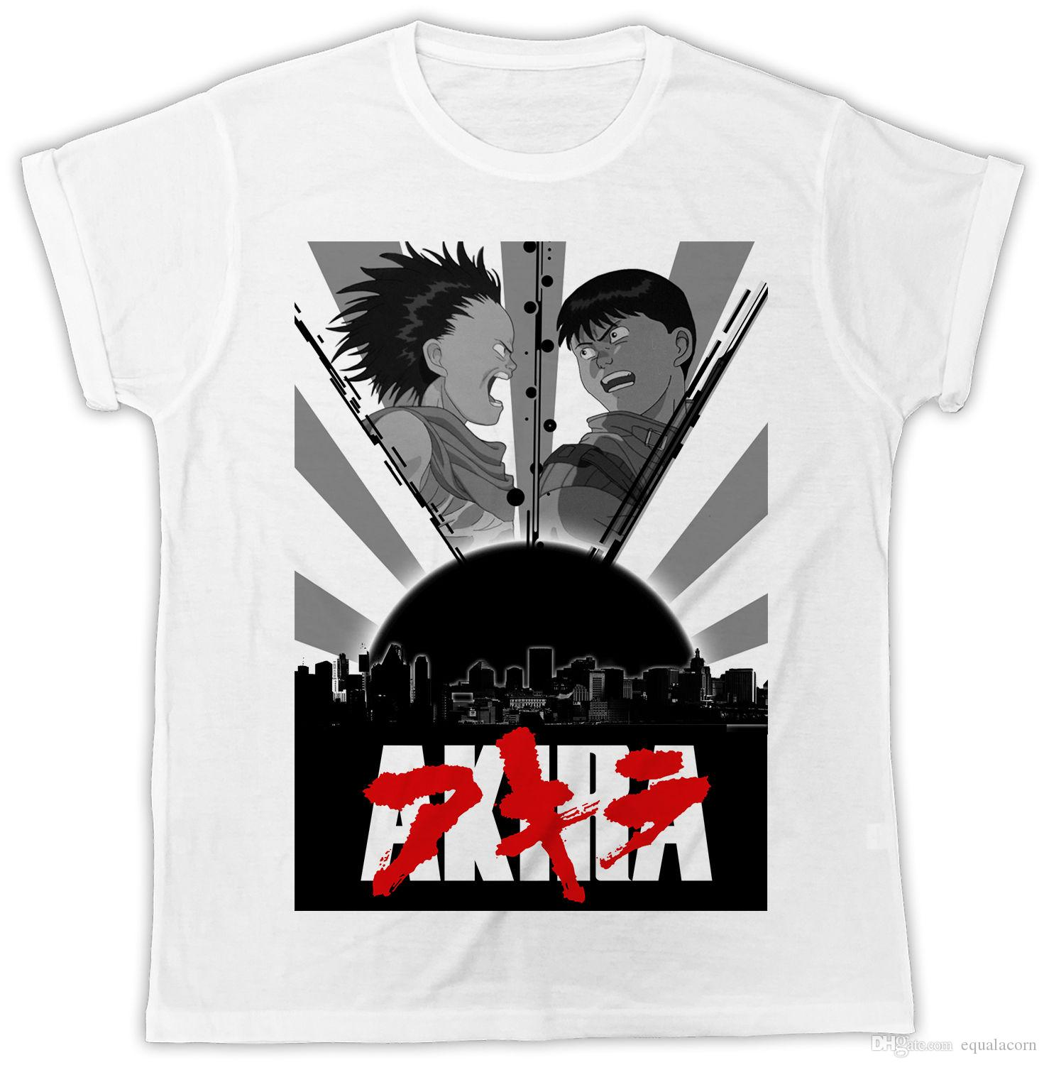 AKIRA MOVIE POSTER IDEAL BIRTHDAY GIFT DESIGNER COOL MENS T SHIRT Fun Tee Daily Shirts From Equalacorn 103