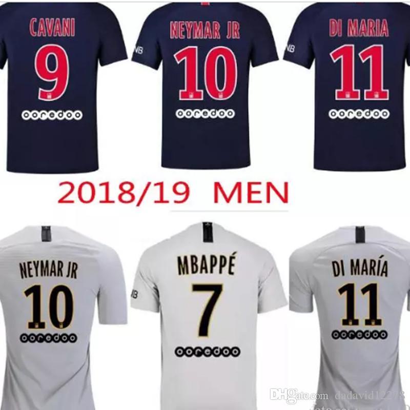 cf1bd7b9a ... promo code for 18 19 mbappe psg soccer jersey 2018 2019 paris cavani  saint germain di