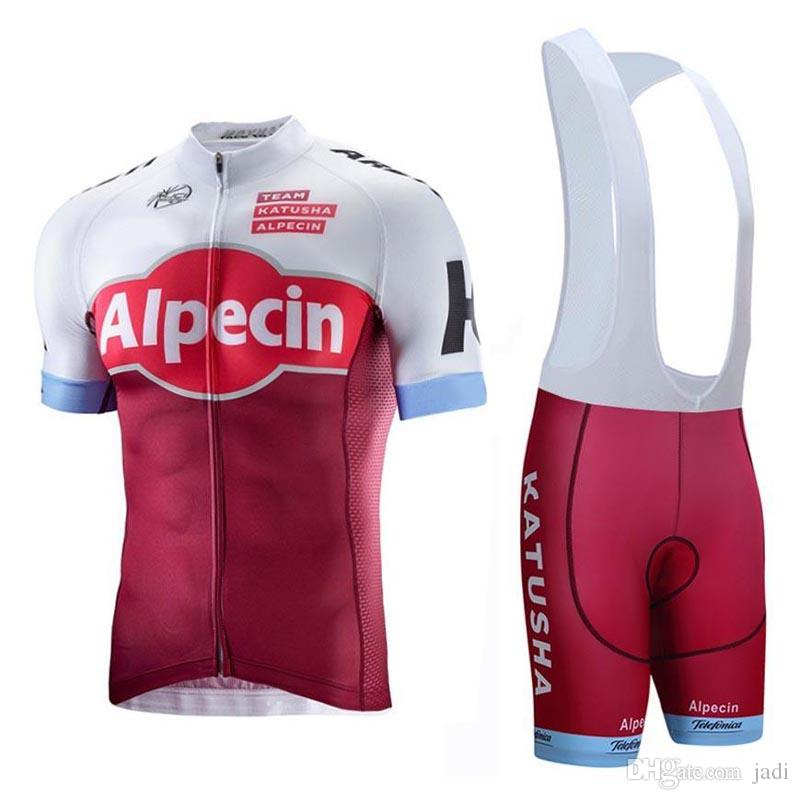2018 New KATUSHA Cycling Jersey Cycling Clothing Ropa Ciclismo Short ... e2e5bb409