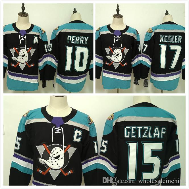 2867b884a Men s Ice Hockey Jerseys Anaheim Ducks 15 Ryan Getzlaf Jersey 17 ...