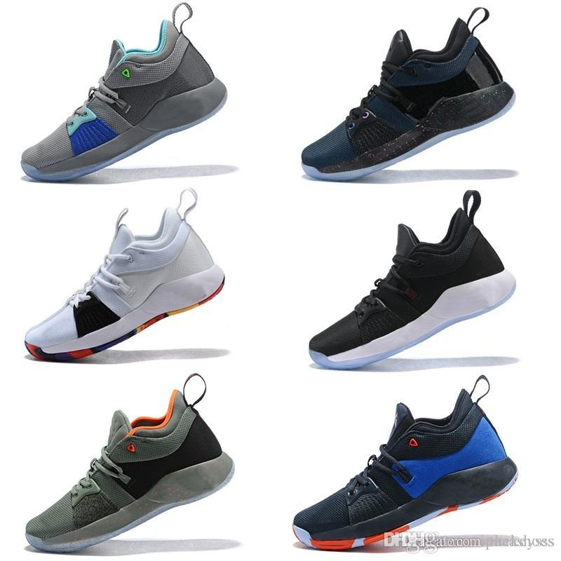 5072f212fcf Nike Basketball Zoom PG2 Vapormax Off White Venta Caliente PG 2 PlayStation  PS Lights UP Paul George II Zapatos Casuales AAA + Calidad PG2 Multi  Hombres ...