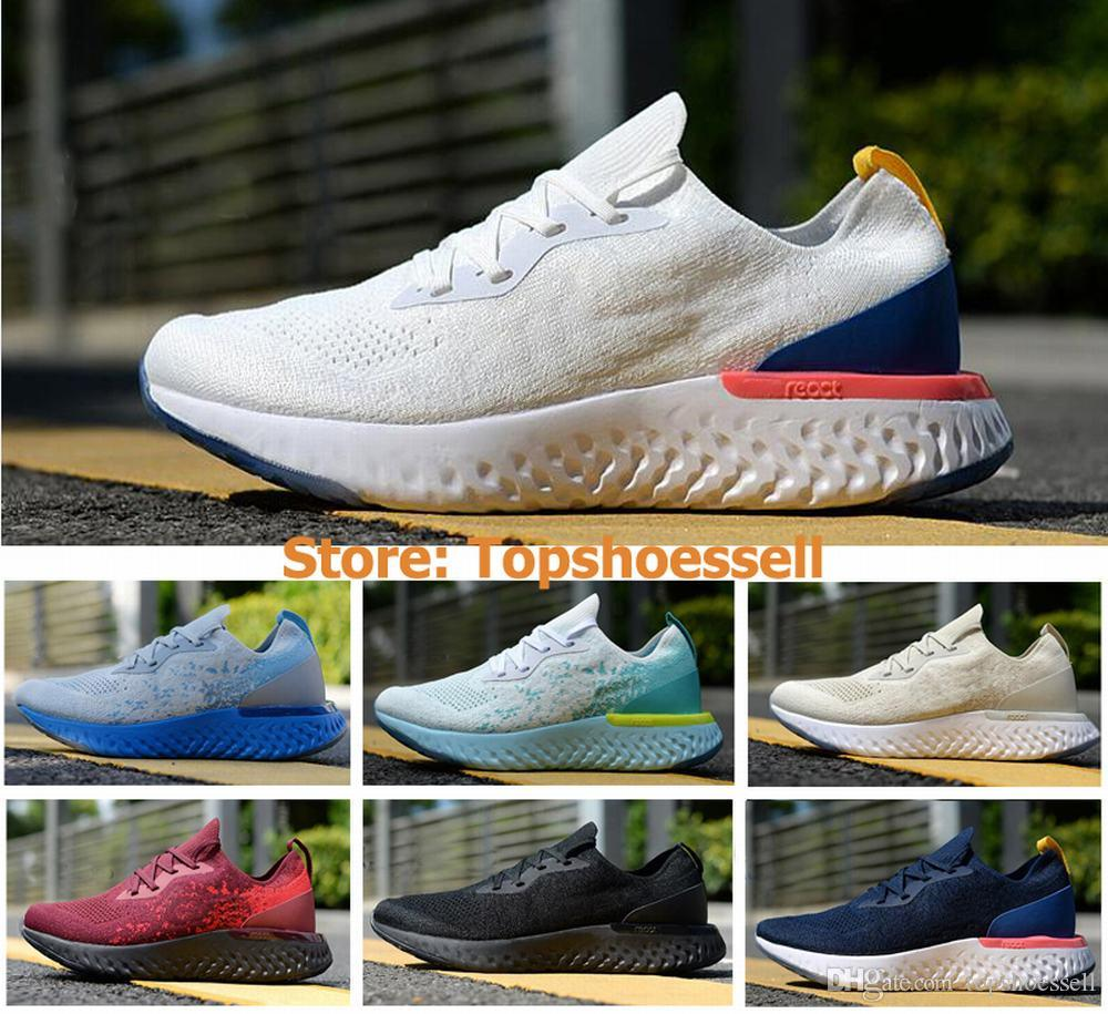 buy online 2b22e 9609b 2018 Women Running Shoes Vapor Epic React Max Fly Knit Trainers Sports  Fashion Racing Runner Men Personality Trainer Air Sneakers EUR36-45 Mens  Trail ...