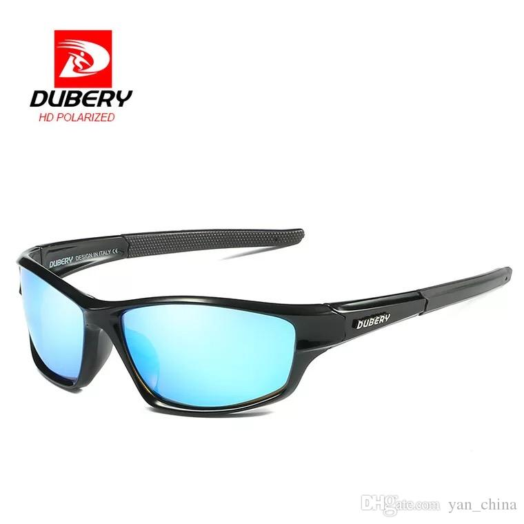 0419260df5d12 DUBERY New Polarized Night Vision Sunglasses For Foreign Trade Sports  Driving Sunglasses Stetson Eyeglass Frames Titanium Eyeglass Frames For Men  From ...