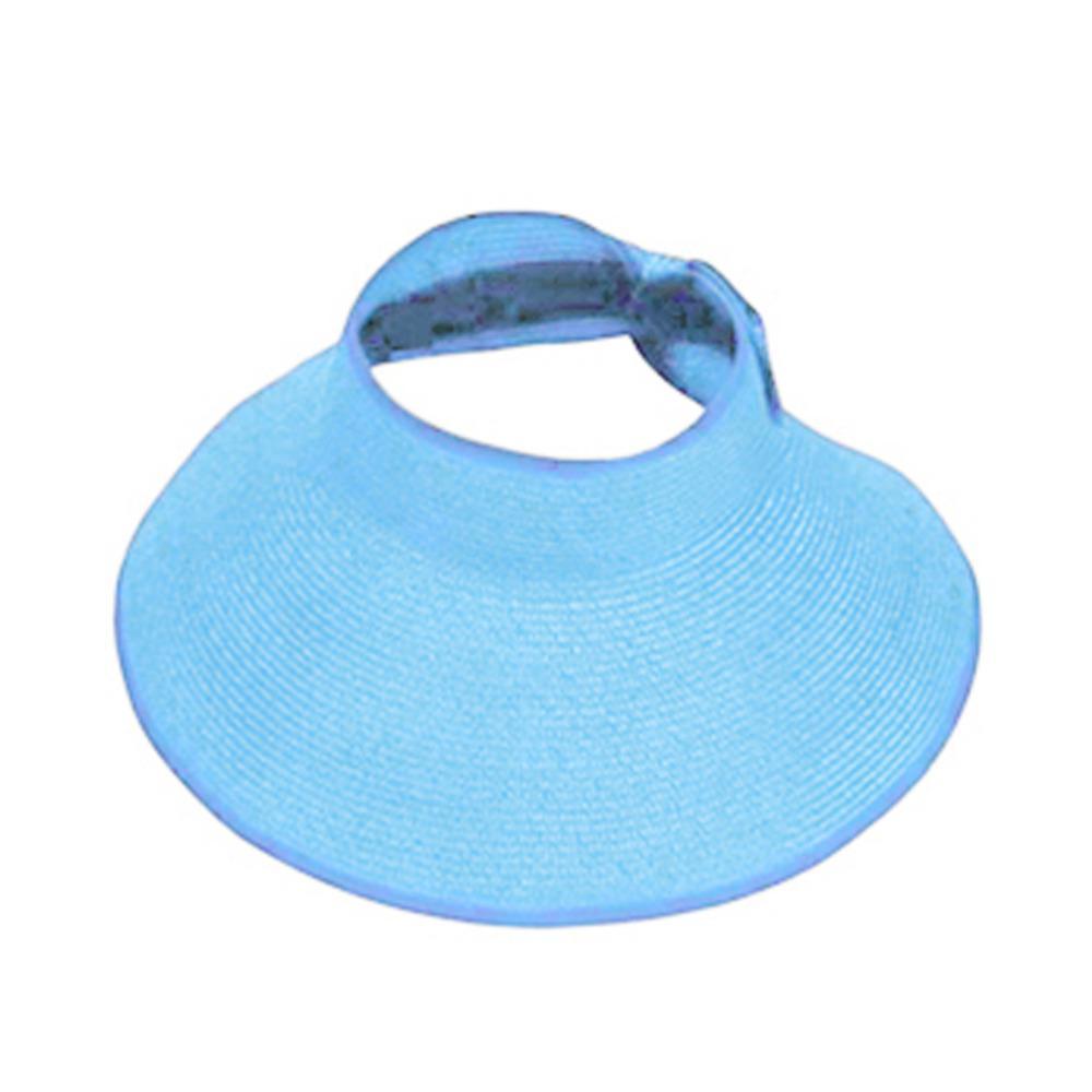 72cbc501fa7 Lady Women Summer Sun Beach Folding Roll Up Wide Brim Straw Visor Hat Cap  Elegant Hats Girls Vacation Tour Hat Dropshipping Fedora Hats For Men  Cowgirl Hats ...