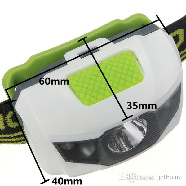 Mini waterproof 1200 Lumen R3+2LED 4 Models Super Bright Mini Headlamp Headlight Flashlight Torch Lamp protable