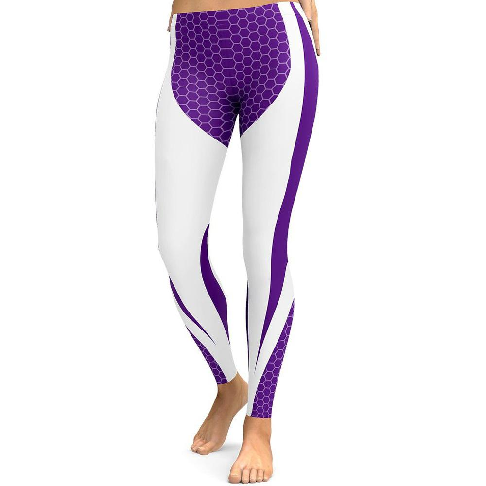 53ed14c10 2019 2018 Hot Sale Western Fashion Leggings Women Active Casual Pant  Patchwork Bodybuilding Slim Legging Yoga Sports Pants Sportswear For  Fitness From ...