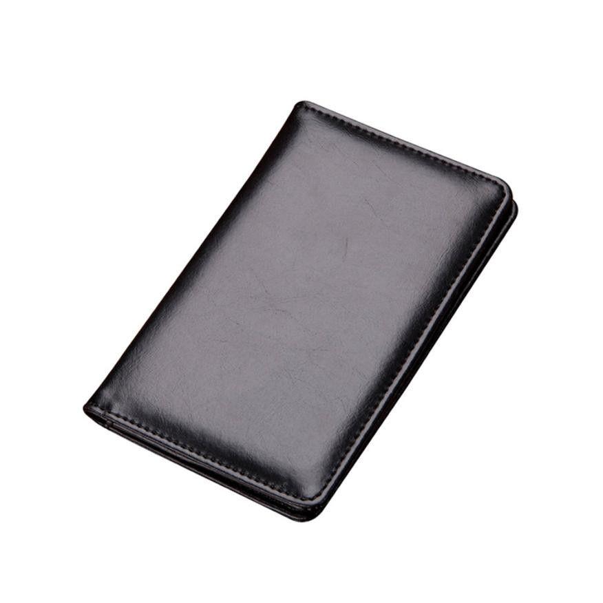 0ba111ab5c7 Men Wallets Slim Vintage Bi Fold Wallet Men Brand Fashion Short Design Travel  Passport Cover Case Document Holder  Z Best Front Pocket Wallet Western ...