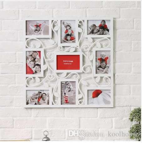 9 Photo Cadre Photo Cadre Photo Famille Amour Grand Multi Mur Suspendu De Mariage Cadeau D Anniversaire Pour La Décoration Murale De La Maison 17e17d5