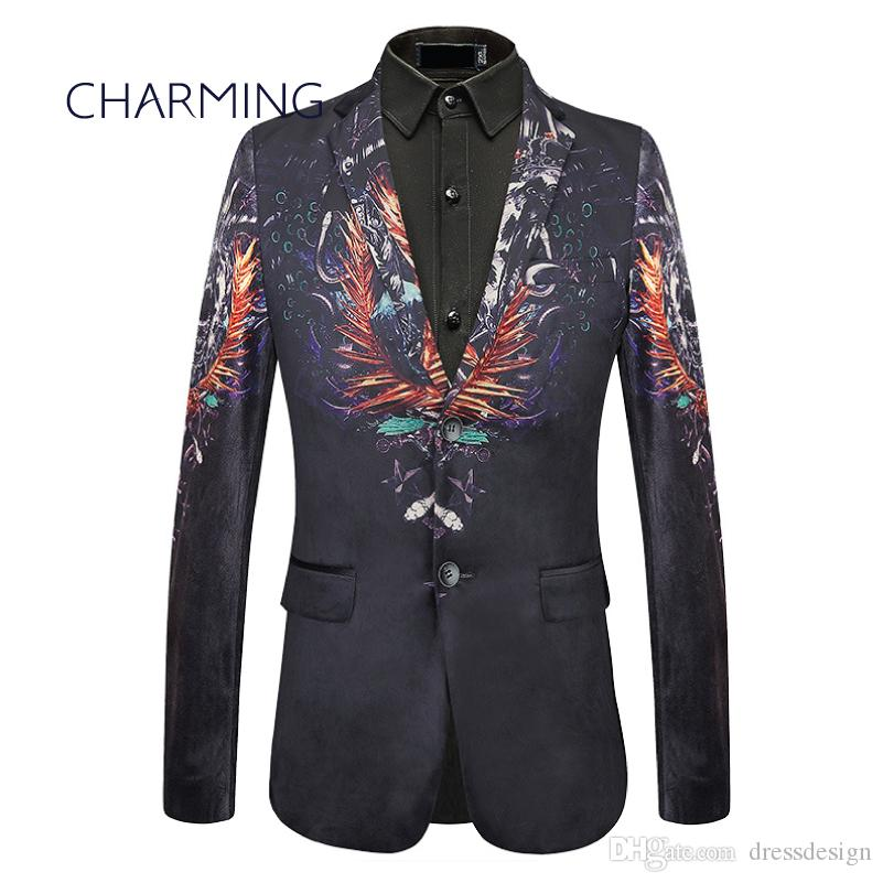 3db85c02 Best suits for men, Designer suit, Mens italian suits, Luxurious velvet  printed fabric, Gentleman jacket, For singers, Wedding party suit