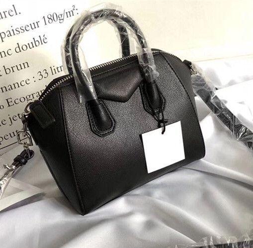 fb07fa5b47 Antigona Mini Tote Bag Famous Brands Designer Shoulder Bags Real Leather  Handbags Fashion Crossbody Bag Female Business Messenger Bags Purse Leather  Satchel ...