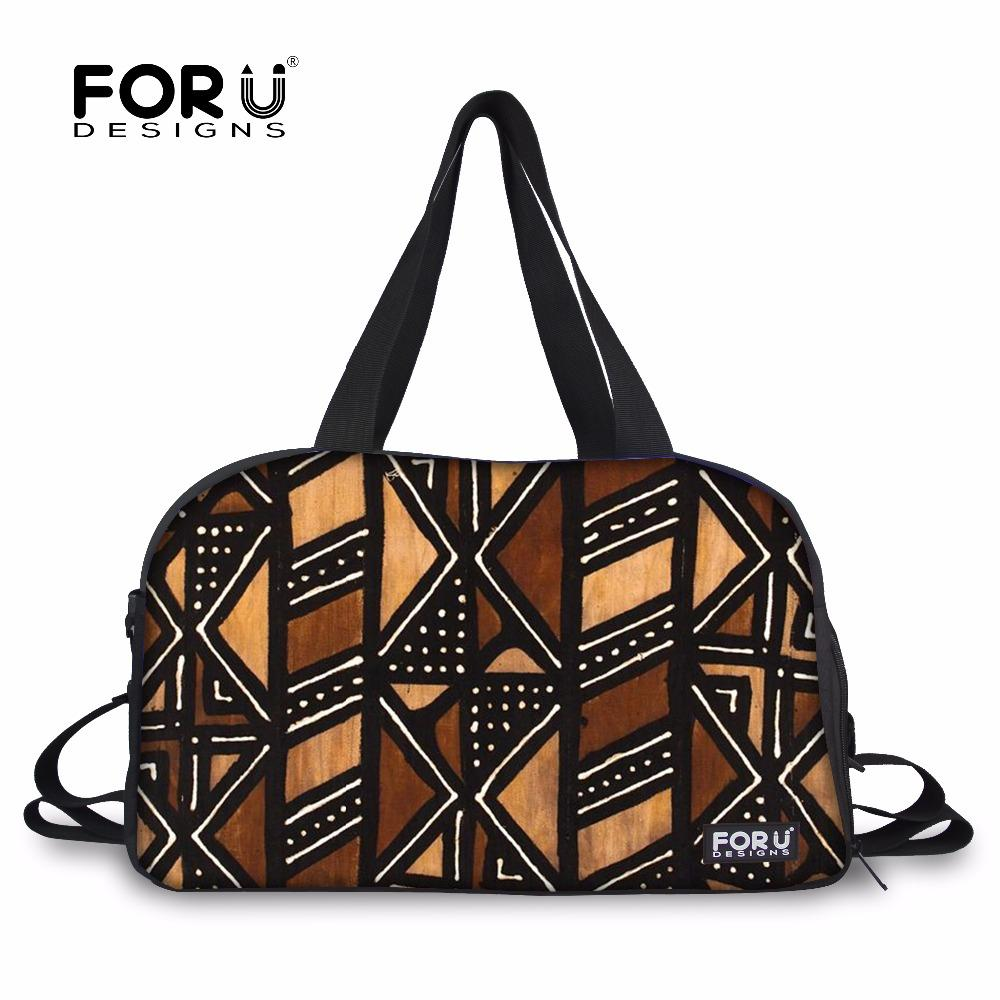 45e5a747436c 2019 FORUDESIGNS Sport Bag For Women Fitness Gym Bag Vintage African  Printing Training Large Tote Shoulder Bags Shoes Pocket 2018 From  Gqinglang