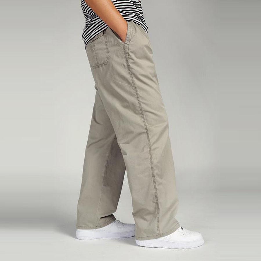 63b2a05d47 Compre Hombres De Algodón Cargo Joggers Pantalones Cintura Elástica Pantalones  Hombres Moda Sueltos Overoles Casuales Más El Tamaño 3XL 4XL 5XL 6XL A   33.15 ...