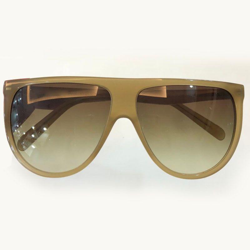 0f8ad3cda44 2018 Trendy Vintage Sunglasses Women Men UV400 Brown Gradient Retro ...