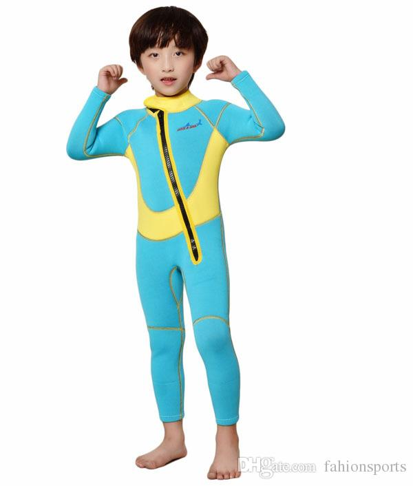 kids neoprene wetsuits kids 3mm wetsuit for boy swimming Diving children diving suit shorty Swimwear kids surfing suit