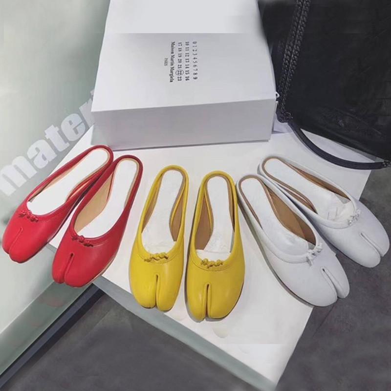 Tabi Tenis Femme Ballerines Pantoufles Véritable Printemps Chaussures Feminino En Confortable Cordons Cuir Haut Noué Automne Femmes rdCWeBQxoE