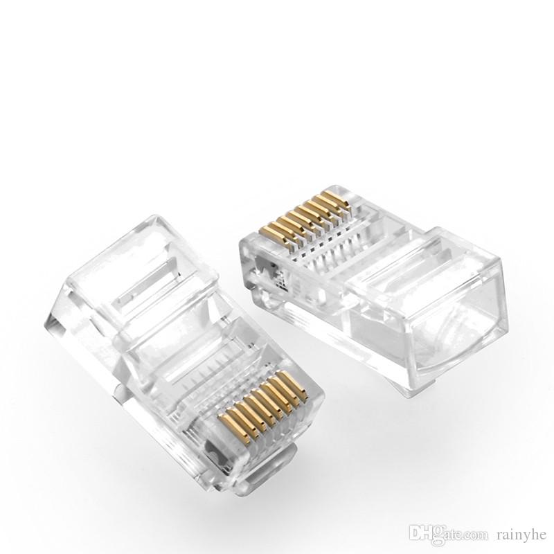 cat5 rj45 connector cat5e 8p8c rj 45 cat5 modular plug network 8 pin USB Ethernet Cat 5 Connector cat5 rj45 connector cat5e 8p8c rj 45 cat5 modular plug network 8 pin 8 contacts ethernet cable head plug gold plated cat 5 crimp cables cables and