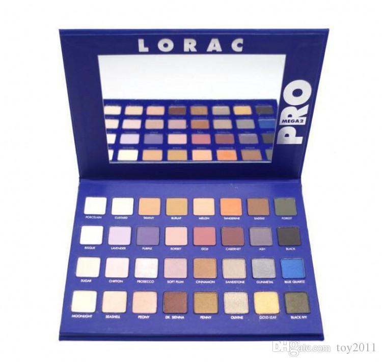 Mega lorac pro palette eyeshadow powder eyeshadow blush makeup.