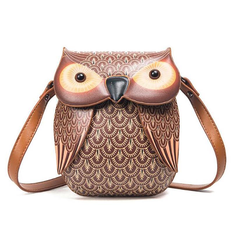 Cute Owl Shoulder Bag Purse Handbags Women Messenger Bags FOR Girls Cartoon  With Crossbody Phone Bag Owl Sac A Main Hot 2018 Camo Purses Cross Body  Purse ... c35776d957