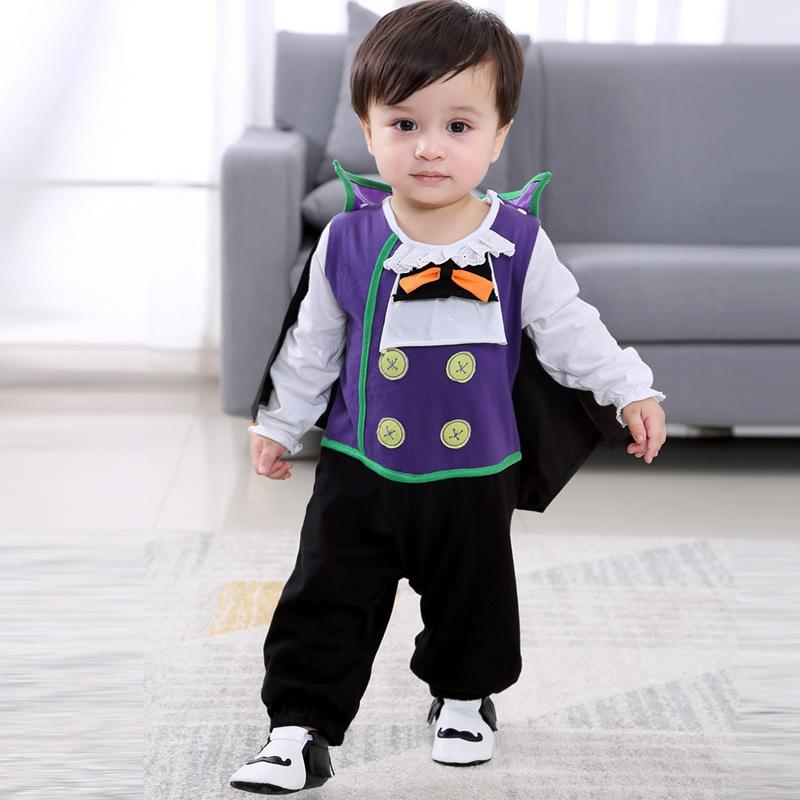 fc9e4e2ad 2019 2018 Baby Boy Vampire Costume Clothes Set Halloween Fancy Dress From  Hanlley, $24.61 | DHgate.Com