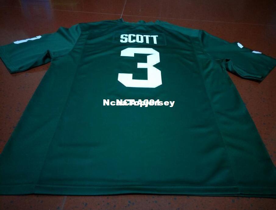 Cheap Men  3 Replica LJ Scott Michigan State Spartans Alumni College ... a9a568dd5
