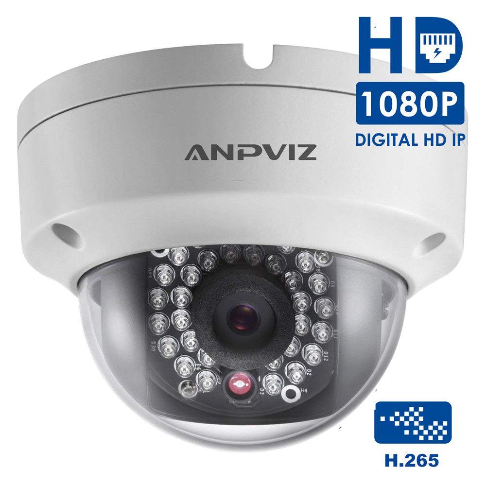 Acheter HD 1080p Caméra Dôme IP Du0027intérieur PoE H.265 2MP Vision Nocturne Caméra  De Surveillance Vidéo Onvif Extérieure Étanche De $106.97 Du Muju | DHgate.