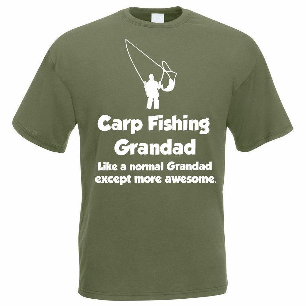5ab49009 Funny Fishing T Shirt CARP FISHING GRANDAD Fisherman / Angler Gift Idea  Original T Shirts T Shirts With Sayings From Yuxin008, $13.8| DHgate.Com