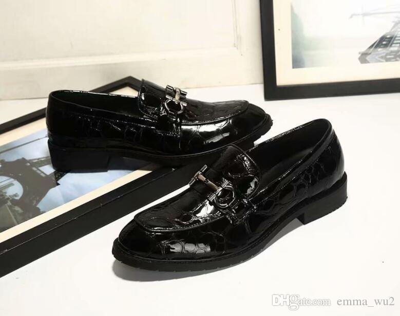 Marcas De Para Ocasionales Compre Hebillas Italianos Zapatos Hombre SnqwCpP f339545294b7c