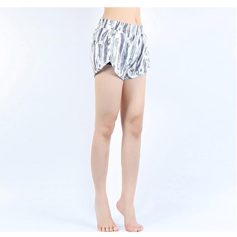 af18b41f9f060 2018 Summer Pocket Yoga Shorts Quick Dry Breathable Sport Running ...