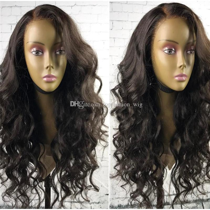 Brazilian Loose Wave Wig in Human Hair Full Lace Wigs Glueless for Black Women Pre Plucked with Baby Hair