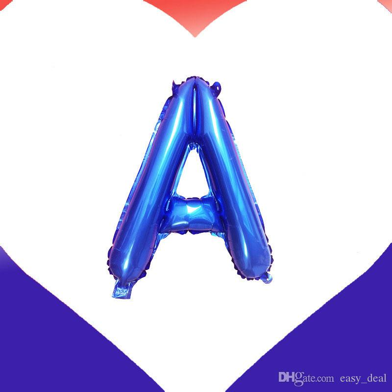 The Stars And The Stripes Foil Balloons Letter's USA Air Globos Independence Day Decorations USA Party Supplies QW7097