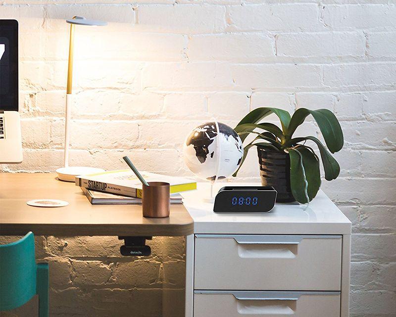 HD 1080p WiFi Relógio Câmeras Mini DV secretária alarme DVR Segurança Nanny WIFI IP Cam Câmaras de Home Office
