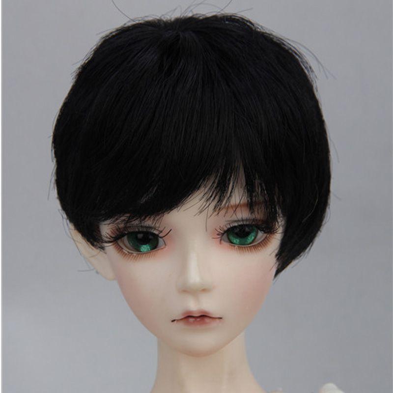 Hot Sale Fashion 1 6 1 4 1 3 Wig Blonde Brown Short Bjd Doll Wigs