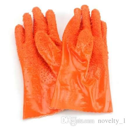 1 Pair Top Quality Vegetable Fish Scale Gloves Kitchen Tools Anti-slip 27CM Peeling Potato Gloves Peel