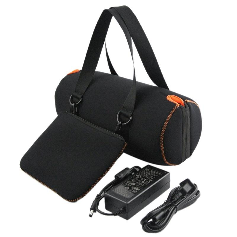 New Portable JBL Xtreme Bluetooth Carrying Case Travel Protective Case  Bluetooth Speaker Semi-mesh Design Soft Protection Pouch
