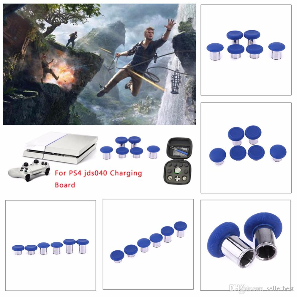 New Swap Thumb Stick Grips Analog Stick Grips for Xbox One Elite Controller Joysticks Game Accessories