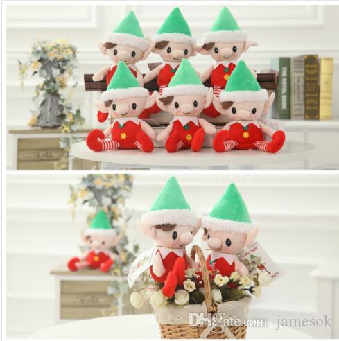 2018 christmas santa elf plush toys best christmas gifts for children christmas party decorations toys to343 from jamesok 212 dhgatecom