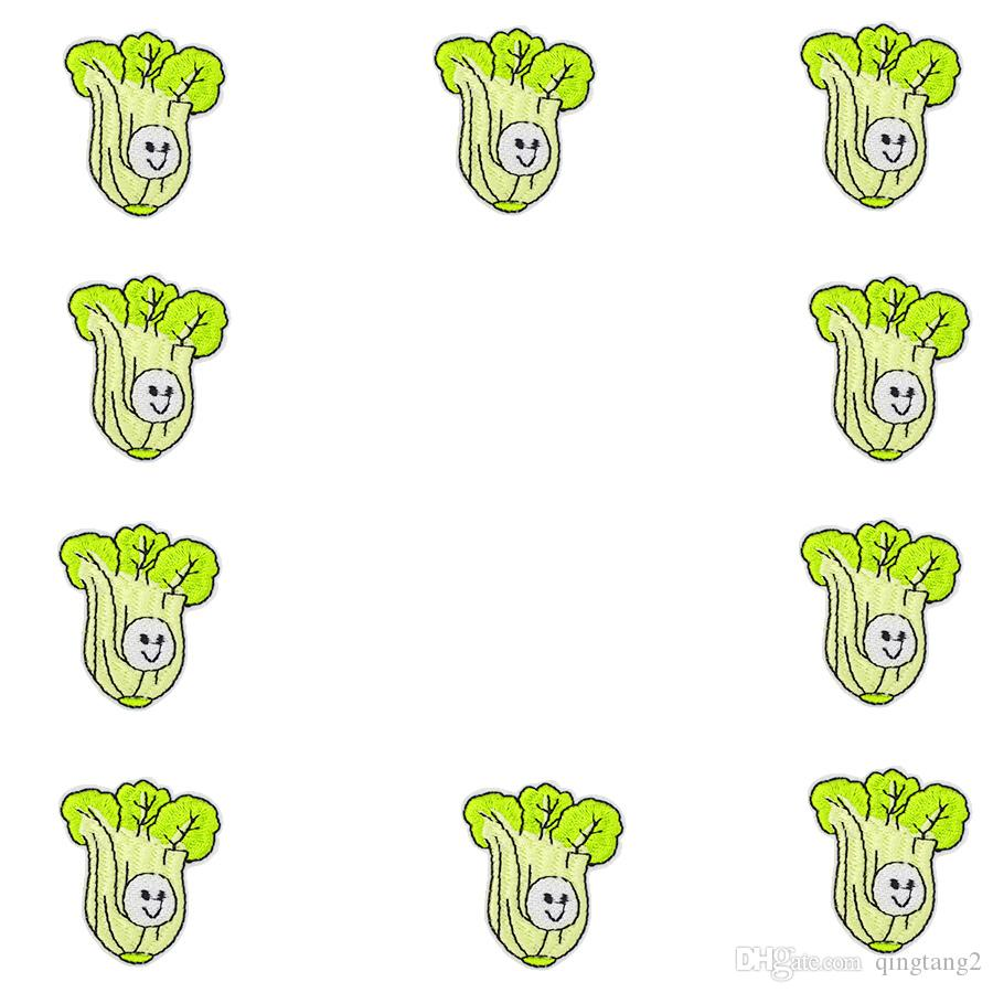 10PCS Cartoon Cabbage Patch Appliques Ironing on Cute Food Patches for  Clothes Jeans Backpack Sewing Patches for Apparel Stickers Diy Craft
