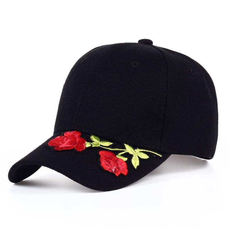 2018 Women S Cap Red Rose Flower Summer Snapback Hat For Men Women Unisex  Style Baseball Cap Fashion Hat Hip Hop Flat Ha Big Hats Hat Stores From  Top7 dfb951b02