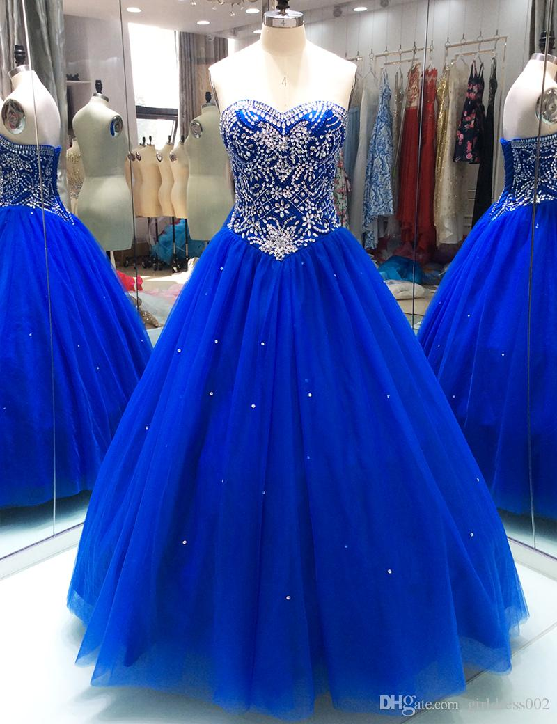 Dresses Quinceanera royal blue exclusive photo