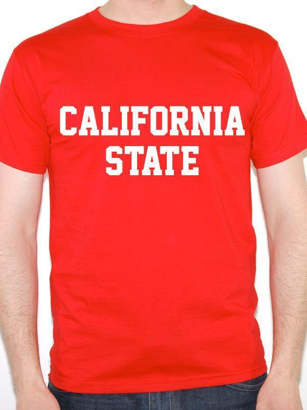 California State Sacramento Western America Novelty Themed Mens