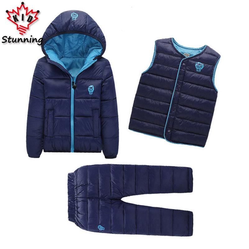 d4c120e94cc3 2 7 Years Baby Boys Girls Coats Brand 2018 Winter Boys Down Jackets ...