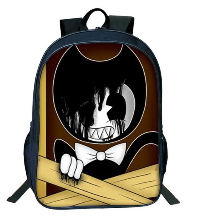 c906b0e9a8a1 Hot Cartoon Bendy And The Ink Machine Backpack For Students Bendy And Boris Kids  Backpacks Teens Boys Girls Children School Bags 29 Leather Bags Laptop Bags  ...