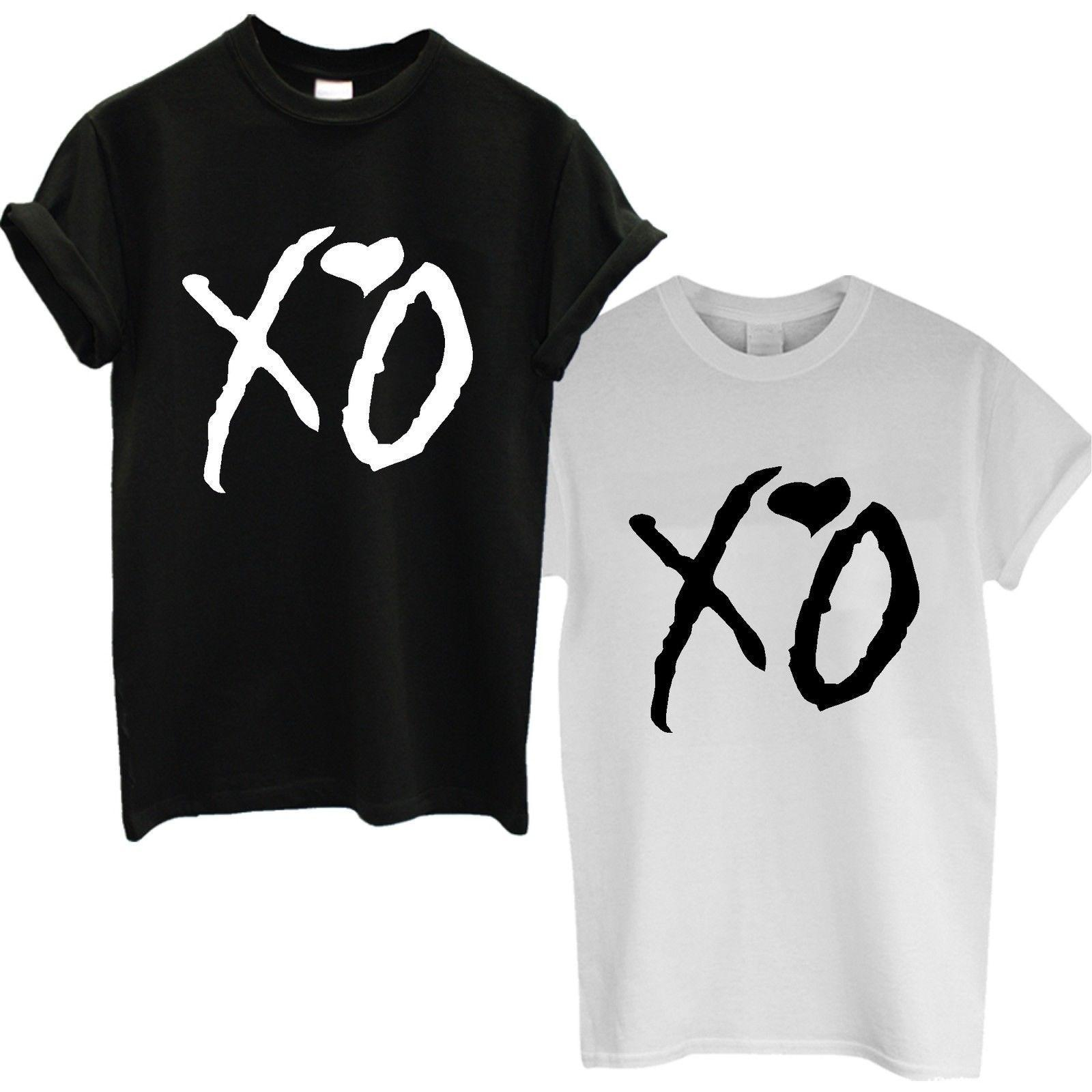 ab717fc2a XO T SHIRT THE WEEKND STARBOY TOP OCTOBERS VERY OWN MENS OVOXO DRAKE  CONCERT Buy Cool T Shirts Funky Tee Shirts From Designtshirts, $13.91|  DHgate.Com