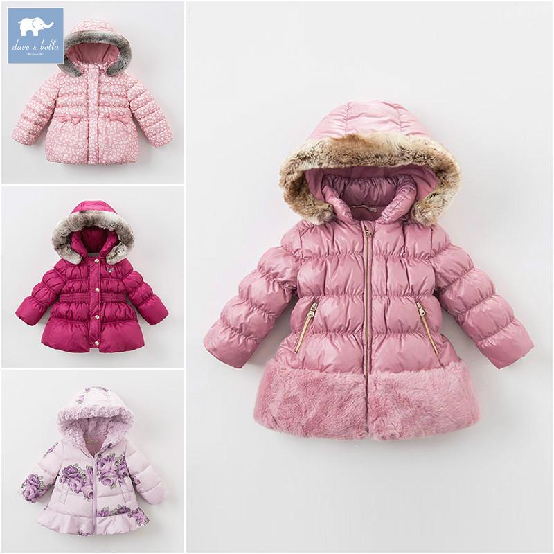7c71796a6 DB6100 Dave Bella Clearance Winter Baby Girls Down Jacket Children White  Duck Down Padding Coat Kids Infant Hooded Outerwear Red Jacket For Boys  Navy Blue ...