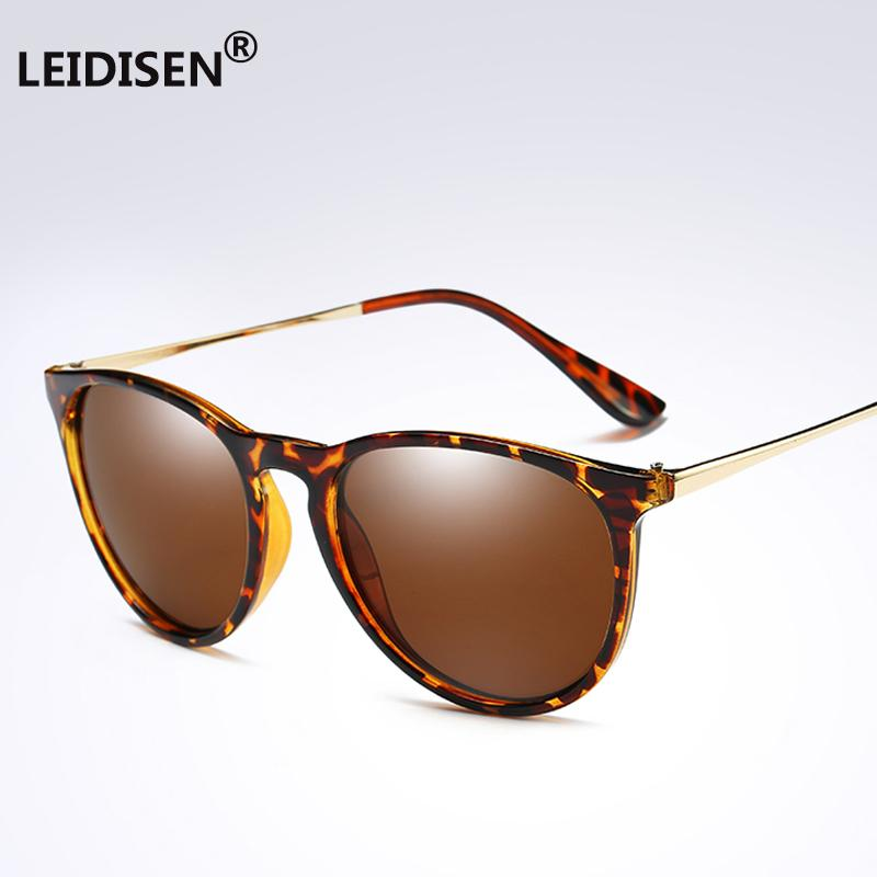 57b391f7937 LEIDISEN Brand Designer Polarized Sunglasses Mens Womens Retro ...